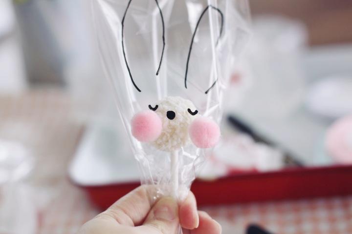 复活节手工 | 兔子棒棒糖