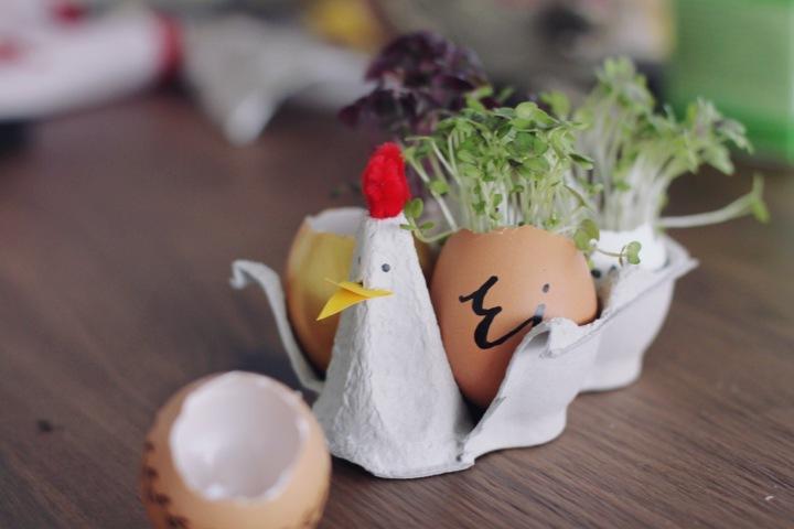 复活节特辑 | 母鸡蛋盒