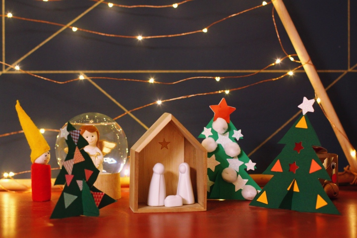圣诞特辑 | 简易纸板圣诞树 —— ersterAdvent